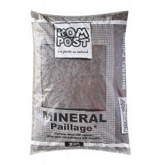 Paillage minéral pouzzolane 20/40mm rouge sac 20 L