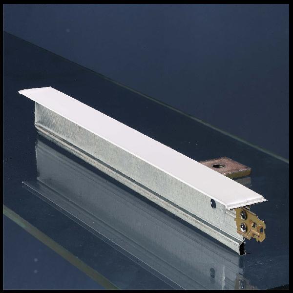 Entretoise à clic DX24TM120W 32x24mm blanc 1,20m