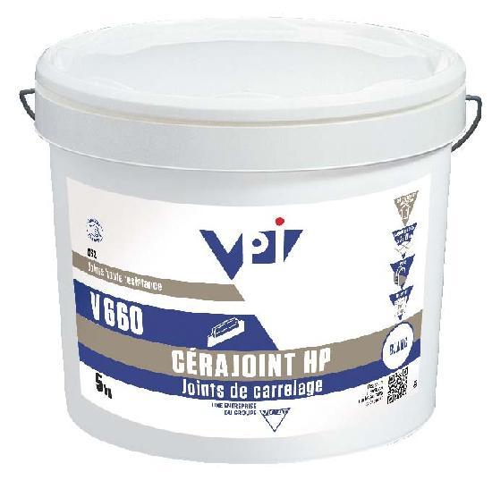Mortier V660 CERAJOINT HP acier seau 5kg