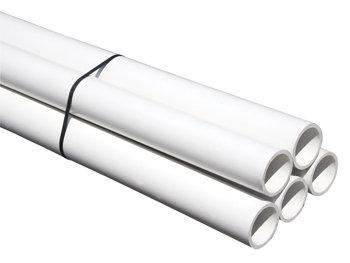 TUBE PVC EVACUATION NFE-NFME D40 BLANC 2M