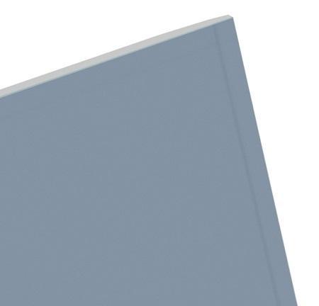 Plaque plâtre KA PHONIK gris bords amincis 13mm 280x120cm