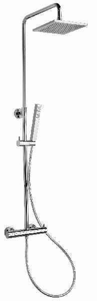 Colonne douche QUADRO 200 ABS thermostatique chromée NF