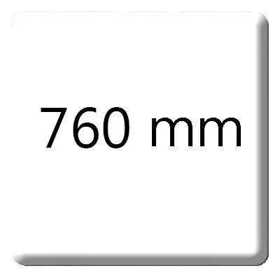 Panneau résine 760x3660mm V-KORR 001 bright white 12.3mm