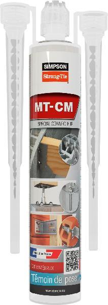 Résine de scellement pour connecteurs MT-CM cartouche 280ml gris