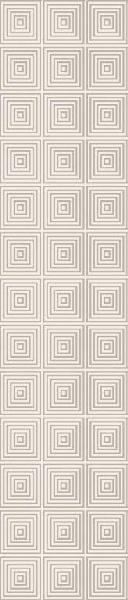 Listel SOFT BLOOM BARRA quares vanille 5,4x22,5cm