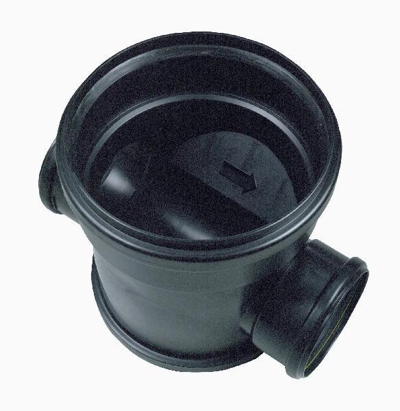 Tabouret PVC lesté passage direct Ø250 femelle-femelle 125-125mm