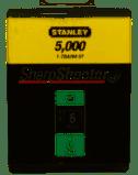 Agrafes type G 6mm boite 5000 pièces