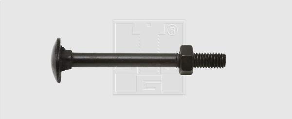 Boulon TRCC Ø7x60mm noir