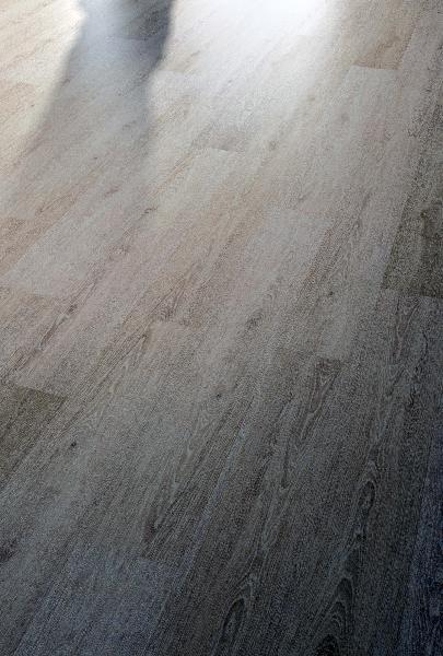 Sol vinyle HYDROCORK limed grey oak 6x145x1225mm