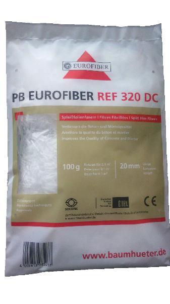 Fibre polypropylène pour dallages 320DC sac 100g