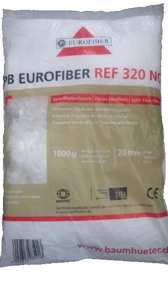 Fibre polypropylène pour dallages 320NC sac 1kg