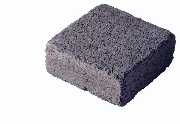 Pavé MEDIEVAL 12x12cm Ep.6cm anthracite