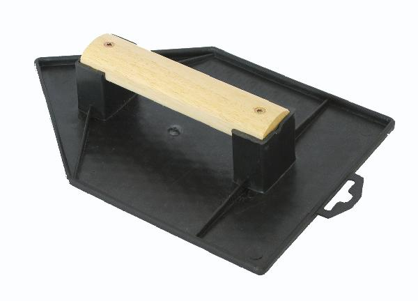 Taloche pointue plastique noir 18x27cm