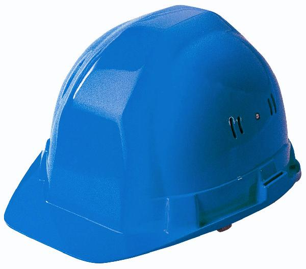 Casque PEHD de chantier OCEANIC II bleu RB40