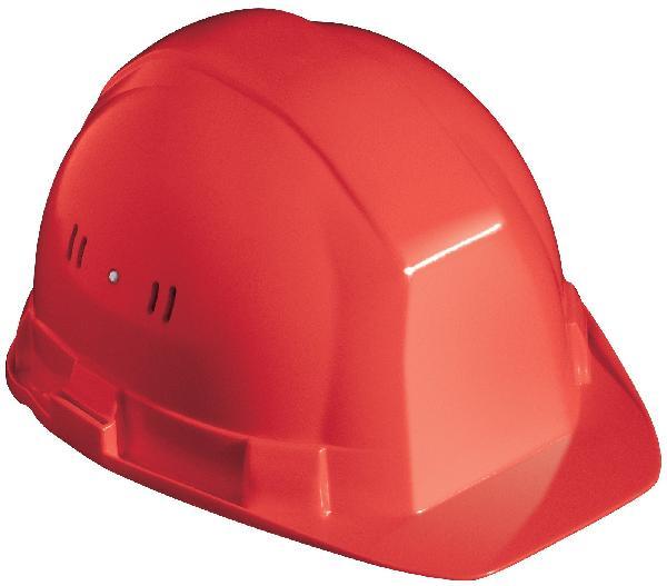 Casque PEHD de chantier OCEANIC II rouge RB40