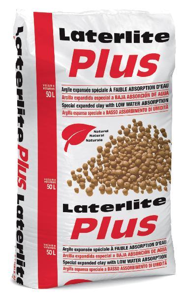 Granulat argile expansée pour chape sèche LATERLITE PLUS 2/3 sac 50L