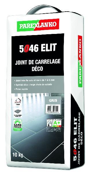 Mortier joint 5046 ELIT cendre sac 10kg