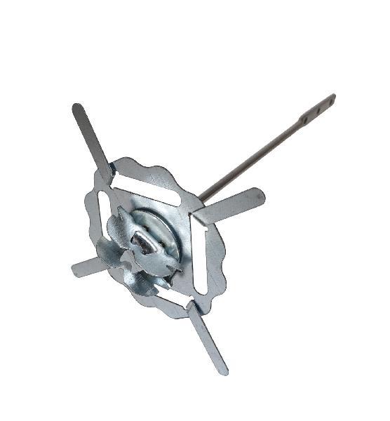 Suspente métal AIR STOP 240mm HP25mm pour fourrure boite 50