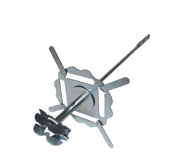 Suspente métal AIR STOP 240mm HP80mm pour fourrure boite 50