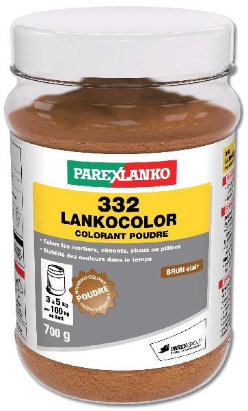 colorant ciment 332 lankocolor brun clair dose 700g. Black Bedroom Furniture Sets. Home Design Ideas