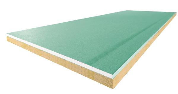 Panneau sandwich laine de roche hydro 10+50+10 SPV 260x120cm
