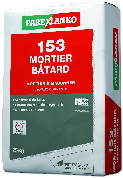 mortier ma onner 153 mortier batard sac 25kg. Black Bedroom Furniture Sets. Home Design Ideas