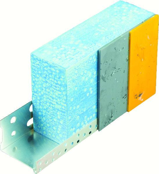 Profilé de départ alu pour isolant 140mm 2,5m