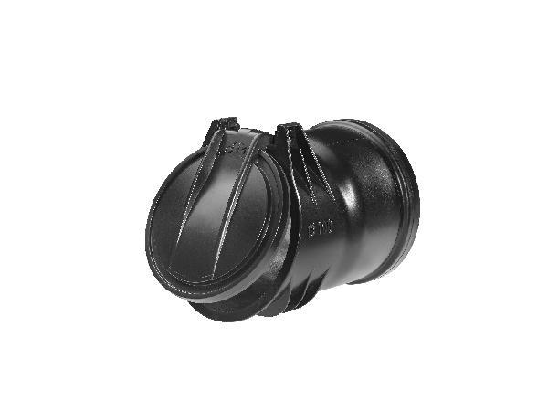 Clapet de nez anti-retour emboitement Ø100 ECO-FLAP