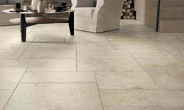 Carrelage TIMELESS blanc 45x45cm Ep.9,5mm