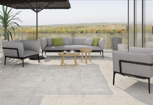 Carrelage terrasse DYNAMIC beige 45x45cm Ep.9,1mm