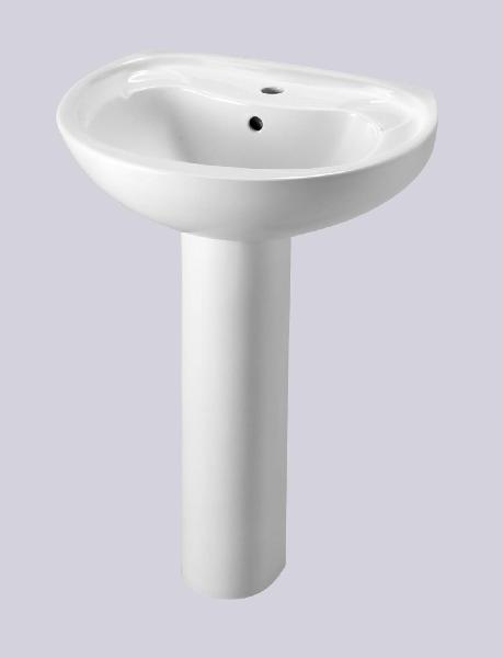 LAVABO NORMA NF BLANC 565X455