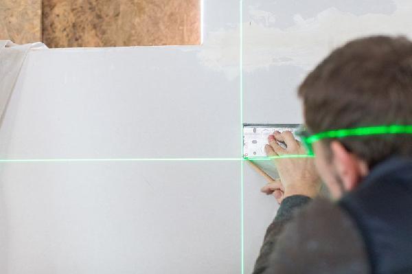 Niveau laser croix +2 points faisceau vert