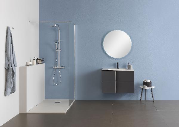 Plan vasque SLIM 81x46cm céramique blanc
