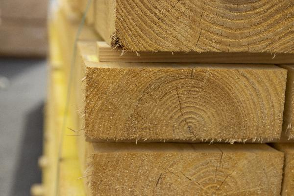 lambourde sapin/épicéa traité classe 2 40x60mm 4,00m