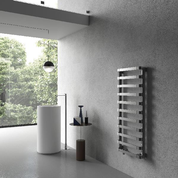 Sèche -serviette eau chaude STEP B 700W gris perle 50x172cm