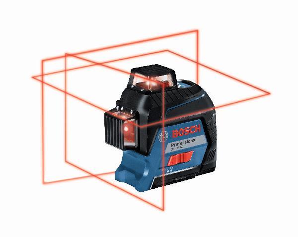 Laser ligne GLL 3-80 rouge version pile 1,5V