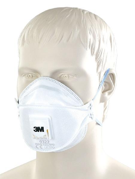 Masques pliables avec soupape FFP2 boite 5