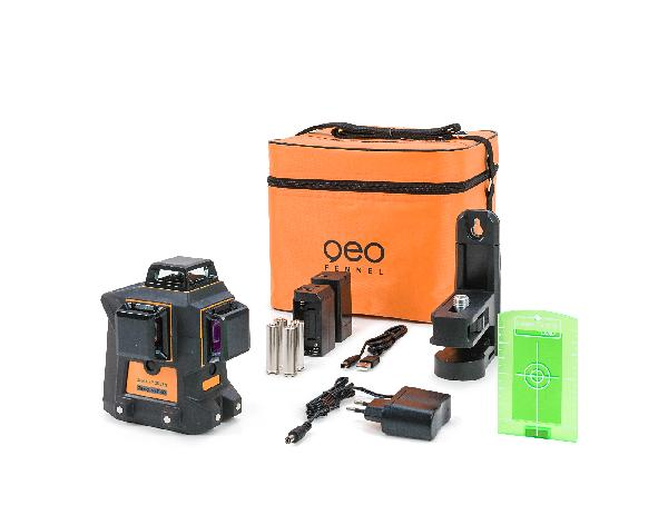 Laser multilignes GEO6X-360 vert coffret