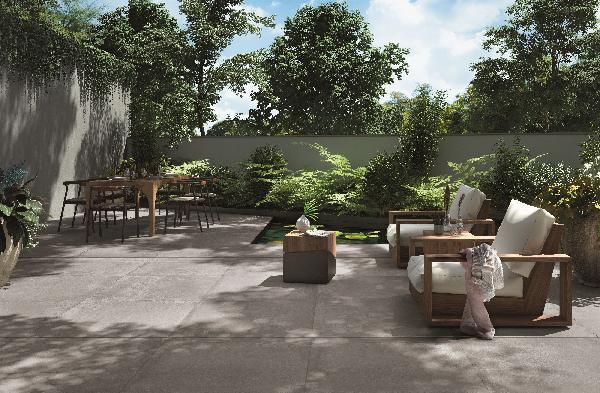 Carrelage terrasse HAIKU peppery rectifié 90x90cm Ep.20mm