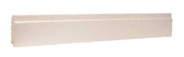 Bardage sapin traité CL3 blanc perle brossé 20x125mm 3,90m paquet 5