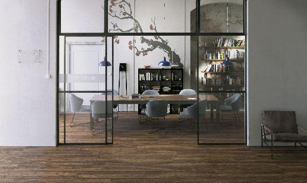 Carrelage décor MORE stick ciliegio 30x30cm Ep.10mm