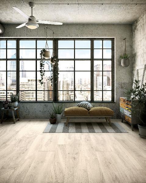 Carrelage décor MORE stick bianco 20x50cm Ep.10mm