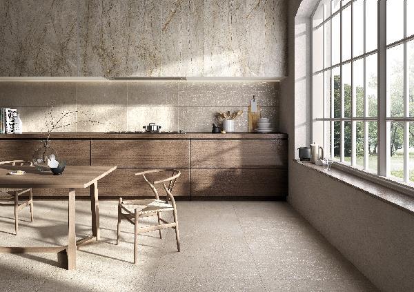Carrelage terrasse LOFT beige rectifié 80x80cm Ep.8,5mm