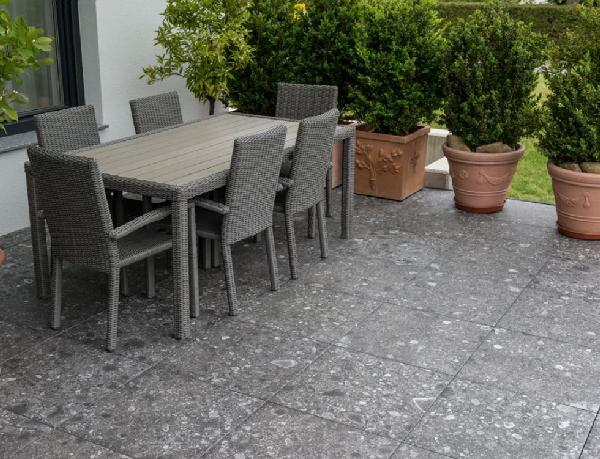 Carrelage terrasse NORR gra RR02 rectifié 60x60cm Ep.20mm