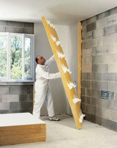 doublage laine de verre calibel 10 80 sans pare vapeur 280x120. Black Bedroom Furniture Sets. Home Design Ideas