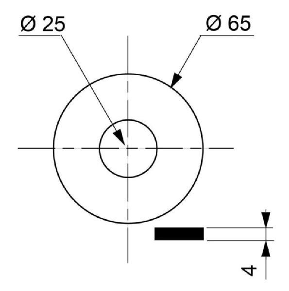 JOINT CLAPET MPMP 25X65X4 SAC