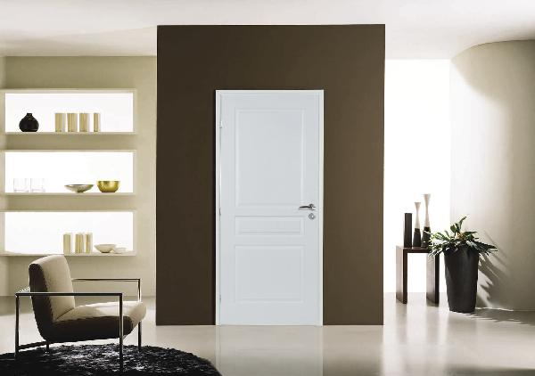 bloc porte postform 3 panneaux rec 204x93 gp n olys 90x49. Black Bedroom Furniture Sets. Home Design Ideas