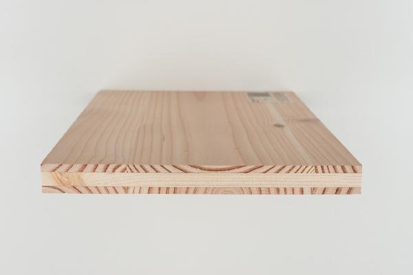 Panneau 3 plis douglas B/C+ âme douglas 19x5000x2050mm