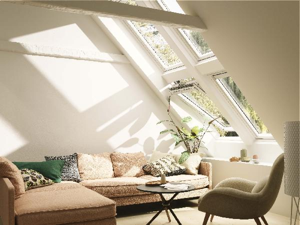 fenetre de toit ggu integra 005721 tout confort sk06 114x118cm. Black Bedroom Furniture Sets. Home Design Ideas