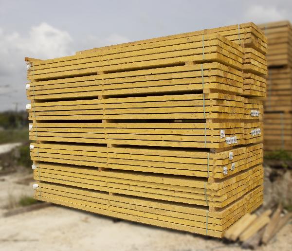 Bastaing sapin/épicéa traité classe 2 75x225mm 5,00m